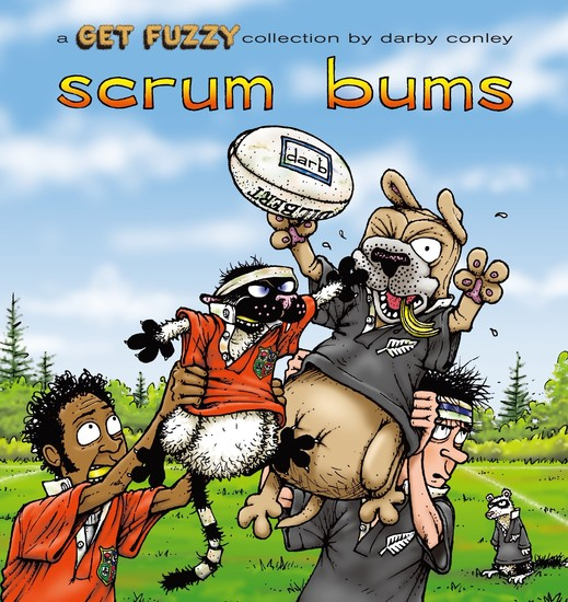 Scrum Bums - A Get Fuzzy Collection - cover