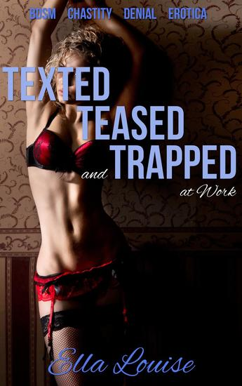 Texted Teased and Trapped at Work - The Kink Diary #2 - cover