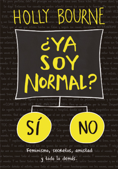 ¿Ya soy normal? - cover