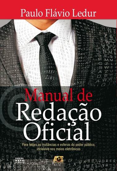 Manual de Redação Oficial - cover