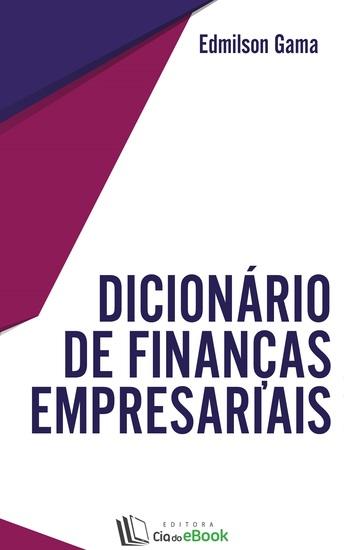 Dicionário de finanças empresariais - cover