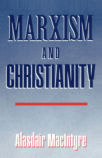 Marxism and Christianity - cover