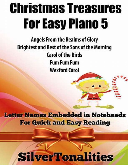 Christmas Treasures for Easy Piano 5 - cover