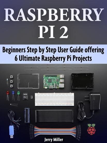 Raspberry Pi 2: Beginners Step by Step User Guide offering 6 Ultimate Raspberry Pi Projects - cover