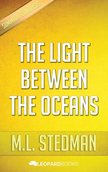 The Light Between Oceans by ML Stedman - cover