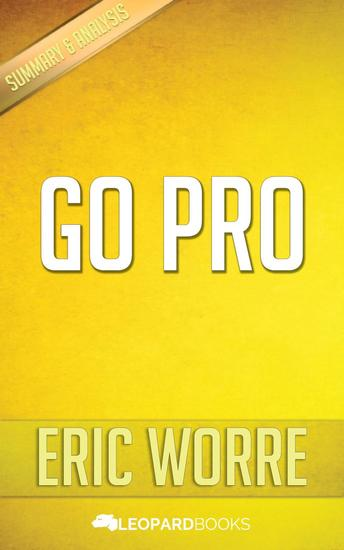 Go Pro by Eric Worre - cover