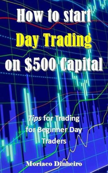 How to start Day Trading on $500 Capital - cover