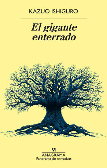 El gigante enterrado - cover
