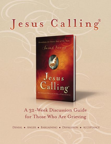 Jesus Calling Book Club Discussion Guide for Grief - cover