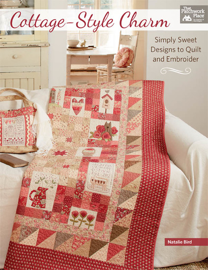 Cottage-Style Charm - Simply Sweet Designs to Quilt and Embroider - cover
