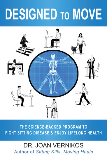 Designed to Move - The Science-Backed Program to Fight Sitting Disease and Enjoy Lifelong Health - cover