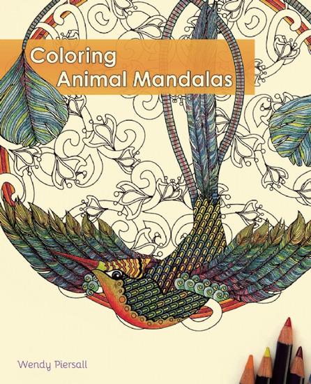 Coloring Animal Mandalas - cover
