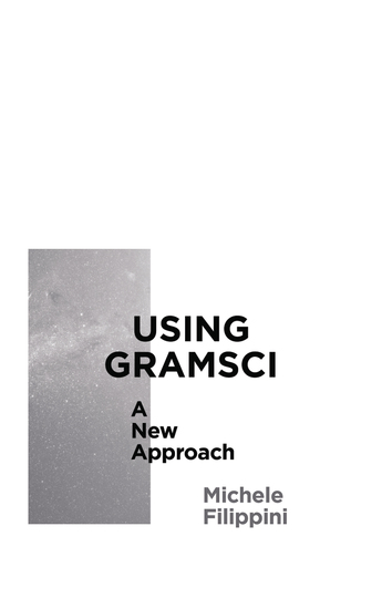 Using Gramsci - A New Approach - cover