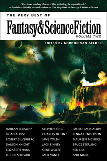 The Very Best of Fantasy & Science Fiction Volume 2 - cover