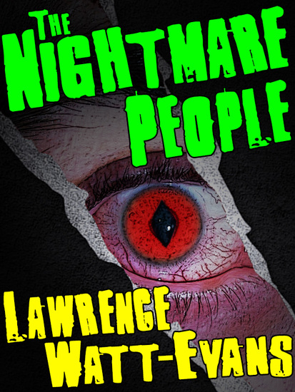 The Nightmare People - A Horror Novel - cover