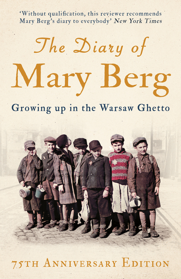 The Diary of Mary Berg - Growing up in the Warsaw Ghetto - cover