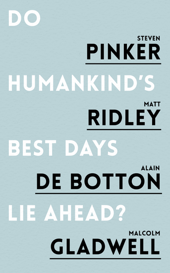 Do Humankind's Best Days Lie Ahead - cover
