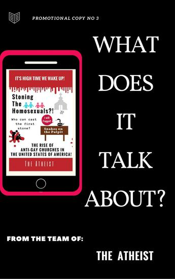 What Does It Talk About? - Promotional Series of The Atheist - cover