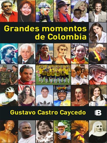 Grandes momentos de Colombia - cover