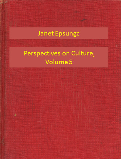 Perspectives on Culture Volume 5 - cover