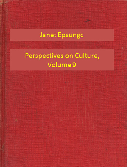 Perspectives on Culture Volume 9 - cover