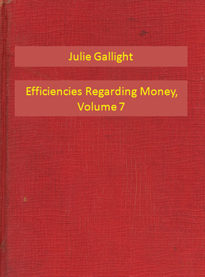Efficiencies Regarding Money Volume 7 - cover