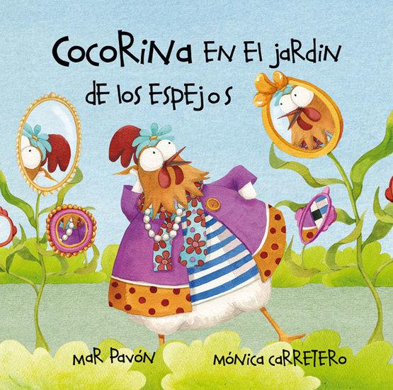 Cocorina en el jardín de Los espejos - cover