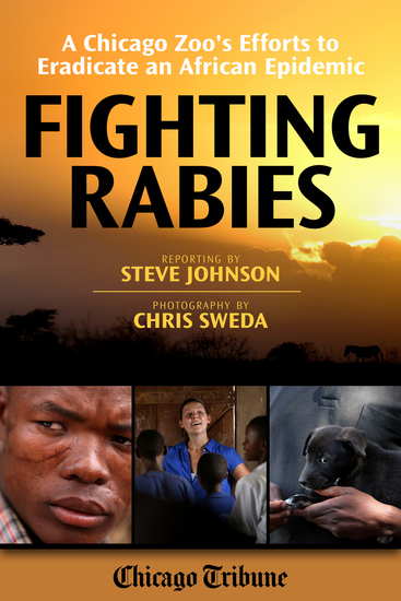 Fighting Rabies - A Chicago Zoo's Efforts to Eradicate an African Epidemic - cover