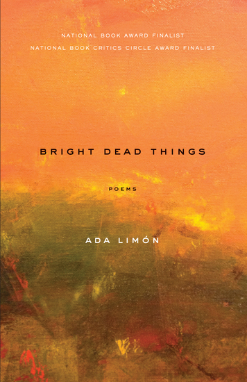 Bright Dead Things - Poems - cover
