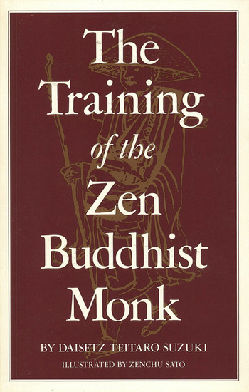 Training of the Zen Buddhist Monk - cover