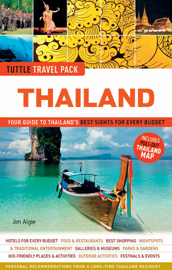 Thailand Tuttle Travel Pack - Your Guide to Thailand's Best Sights for Every Budget - cover