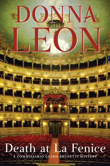 Death at La Fenice - A Commissario Brunetti Mystery - cover