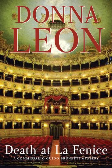 Death at La Fenice - A Commissario Brunetti Mystery - cover