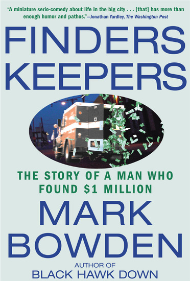Finders Keepers - The Story of a Man Who Found $1 Million - cover