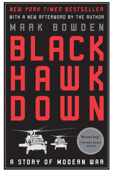 Black Hawk Down - A Story of Modern War - cover