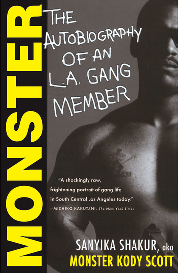 Monster - The Autobiography of an LA Gang Member - cover