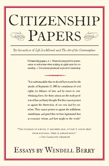 Citizenship Papers - Essays - cover
