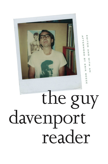The Guy Davenport Reader - cover