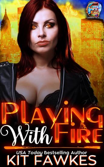 Playing With Fire - Elementals #1 - cover