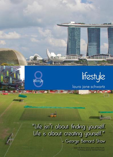 Living in Singapore: Fourteenth Edition Reference Guide - Lifestyles - cover