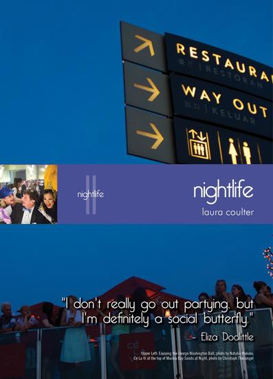 Living in Singapore: Fourteenth Edition Reference Guide - Nightlife - cover