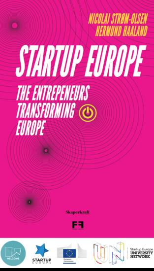 Startup Europe - The entrepreneurs transforming Europe - cover