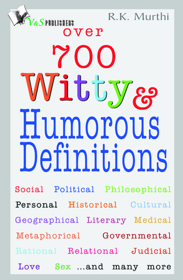 Over 700 Witty & Humorous definitions - cover