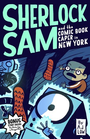 Sherlock Sam and The Comic Book Caper in New York - cover