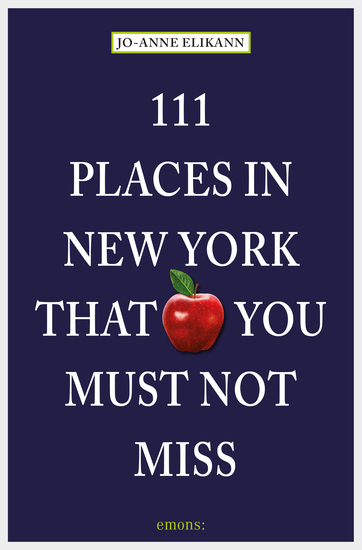 111 Places in New York that you must not miss - cover