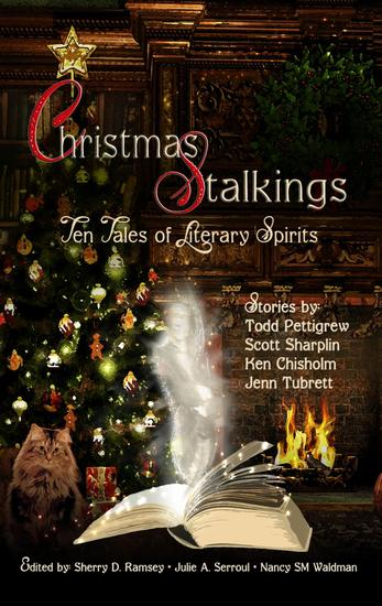 Christmas Stalkings: Ten Tales of Literary Spirits - cover