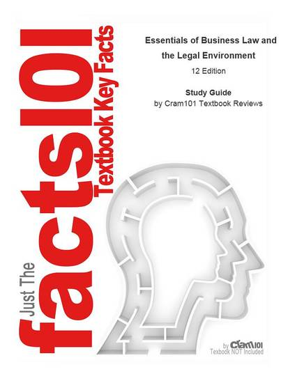 Essentials of Business Law and the Legal Environment - cover