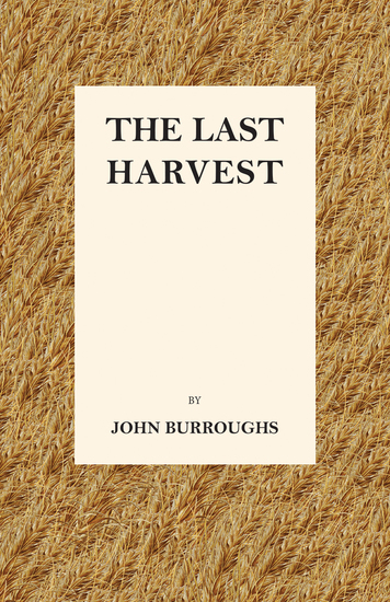 The Last Harvest - cover