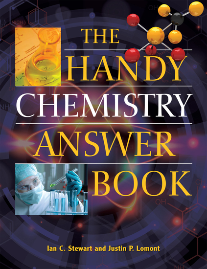 The Handy Chemistry Answer Book - cover