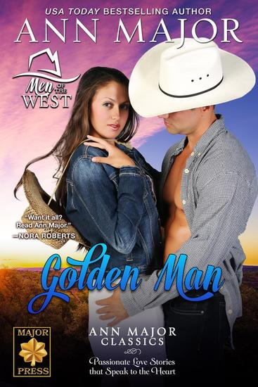 Golden Man - Men of the West - cover